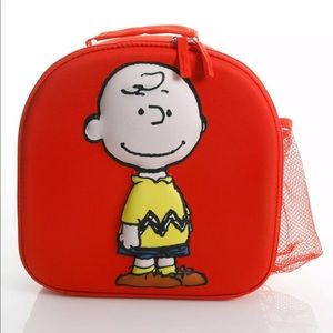 PEANUTS LUNCH TIME PALS CHARLIE BROWN LUNCH BAG